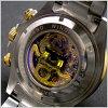 J.HARRISON(乔恩哈里森)多功能两面骨架型机械式手表限定スワロフスキー12point(白)乔恩哈里森JH-003GW