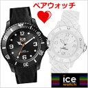 【アイスウォッチ】ICE WATCH 腕時計 ペアウォッチ(2本セット) ICE sixty nine アイスシックスティナイン ブラック/ラージ & ミディアム/ホワイト アイスウォッチ ICE W