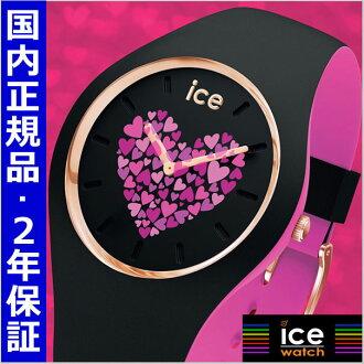 ICE WATCH 손목시계 ICE love 2017 아이스 러브 블랙/미디엄 유니섹스/남녀 겸용 아이스 워치 ICE WATCH 013371