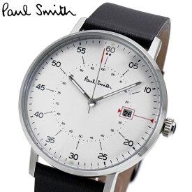ポールスミス Paul Smith 腕時計 メンズ ゲージ Gauge ホワイト文字盤 P10072