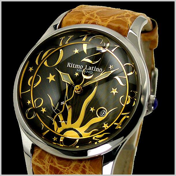 リトモラティーノ Ritmo Latino 腕時計 FINO(フィーノ)レギュラーサイズ レディース ワニ革 F-12SB【送料無料】