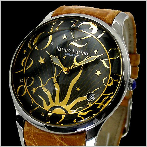 リトモラティーノ Ritmo Latino 腕時計 FINO(フィーノ)ラージサイズ ワニ革 リトモラティーノ F-12SL