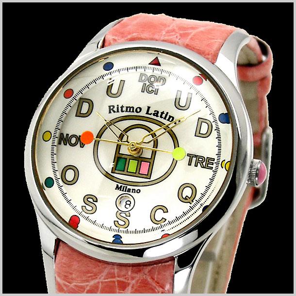 【リトモラティーノ】Ritmo Latino 腕時計 FINO(フィーノ)DODICI(ドディッチ) レギュラーサイズ レディース ワニ革 F-20DB【送料無料】