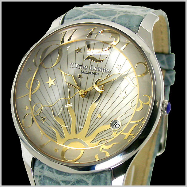 リトモラティーノ Ritmo Latino 腕時計 FINO(フィーノ)ラージサイズ/メンズ ワニ革 F-22SL【送料無料】