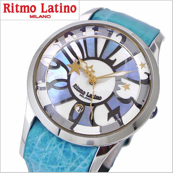 Ritmo Latino リトモラティーノ 腕時計 FINO フィーノ レギュラーサイズ レディース シェル(白蝶貝)文字盤/ワニ革 リトモラティーノ F-50MOP【送料無料】