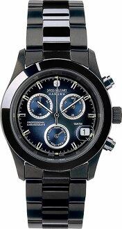 It is 20%OFF ML -248 SWISS MILITARY (the Swiss military) PVD BLACK big Kurono navy clockface (male business) (regular article)