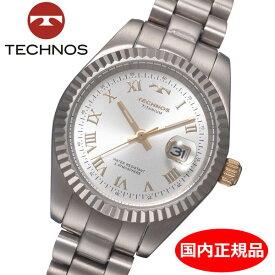 【テクノス】 TECHNOS 腕時計 レディース チタン製 TSL915IS