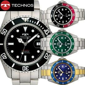 【テクノス】 TECHNOS 腕時計 メンズ 10気圧防水ダイバー TSM402【送料無料】