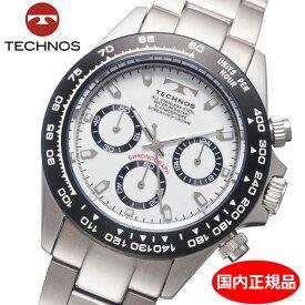 【テクノス】 TECHNOS 腕時計 メンズ クロノグラフ TSM411TW