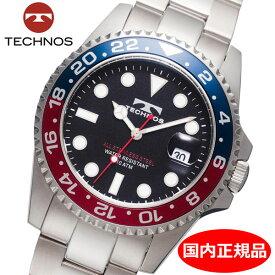 【テクノス】 TECHNOS 腕時計 メンズ 10気圧防水 TSM412NB