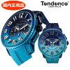 【クリーナープレゼント】【日本限定カラー】【テンデンス】TENDENCEディカラーオーシャンDE'ColorOcean腕時計メンズTY146101