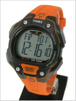 Watch Ironman 50 lap fullsize (mens size) black / orange (genuine) T5K493/TIMEX (Timex)
