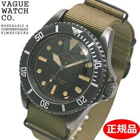 【クリーナープレゼント】【正規品】VAGUE WATCH Co. ヴァーグ ウォッチ カンパニー 腕時計 ブラック サブ 40mm メンズ NATOベルト VAGUE WATCH BS-L-001