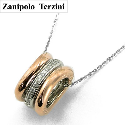 ZanipoloTerzini(ザニポロ・タルツィーニ)サージカルステンレス製ペンダント/ネックレスレディースSP-ZTP12506-RS