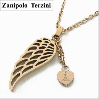 Zanipolo Terzini (Zanipolo 塔尔蒂尼) 外科不锈钢吊坠 / 项链妇女 ZTP2428L RS