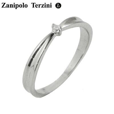 ZanipoloTerzini(ザニポロ・タルツィーニ)サージカルステンレス製リング指輪キュービックジルコニアレディースザニポロタルツィーニZTR427FM-SUS