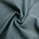 【ウールナイロンコート用生地グレー】143cm幅ウール90%ナイロン10%コート用グレー無地織物布帛婦人服裁縫日本製
