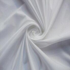 【コットン / ポリエステル 平織 ローン オフホワイト】110cm幅 コットン 50% ポリエステル 50% ローン 織物 無地ハンドメイド 縫製 婦人服 綿 テトロン エステル 日本製