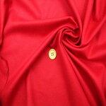 【ウールストレッチカシミア混生地赤】135cmウール89%カシミア2%ナイロン8%ポリウレタン1%カラー:赤織物無地ストレッチ日本製