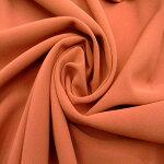 【ポリエステル2WAYストレッチ織物生地レンガ色系】カラー:レンガ色系135cm幅ポリエステル93%ポリウレタン7%パンツ婦人服裁縫縫製日本製