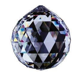 シャンデリアパーツ#8558【クリスタル】40mmΦボール型1穴スワロフスキー・クリスタル
