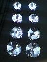 シャンデリアパーツ#8116八角【クリスタル】4種8個入セット10・12・14・16mmスワロフスキー・クリスタル