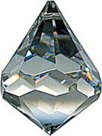 シャンデリアパーツ#8560【クリスタル】30mmベルトップ型コーン1穴スワロフスキー・クリスタル