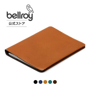 Bellroy公式 ベルロイ ノートブックカバー A5 (レザー) / Notebook Cover A5 -Leather 送料無料 本革 本皮