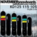 17-18 NOVEMBER ノベンバー スノーボード KD ケーディー 105、115、125cm キッズ