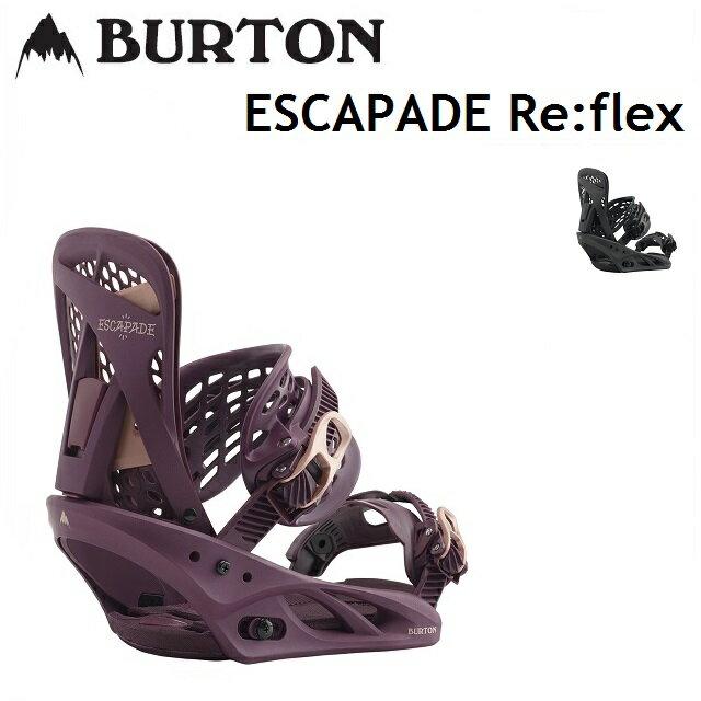 [最大3000円クーポン配布中] 18-19 BURTON バートン ビンディング ESCAPADE エスカペード Re:Flex レディース 【正規保証書付】