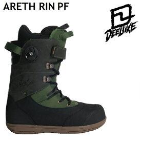 19-20 DEELUXE ARETH RIN PF ディーラックス アース リン ブーツ ノーマルインナー 成型なし メンズ レディース スノーボード 日本正規品