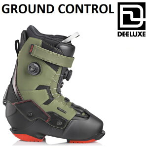 21-22 DEELUXE GROUND CONTROL ディーラックス グラウンドコントロール ブーツ ノーマルインナー ハードブーツ アルペン メンズ レディース スノーボード 日本正規品