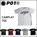 P01プレイCAMPLAYTEETシャツPLAYDESIGNプレイデザイン半袖