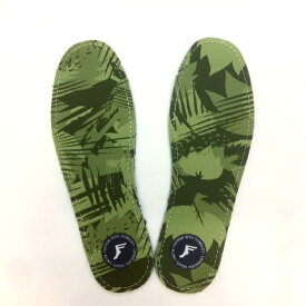 3mm FP INSOLE/FOOT PRINT INSOLE フットプリントインソール KING FOAM INSOLES-YELLOW CAMO イエローカモ