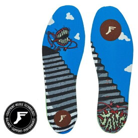 7mm FP INSOLE/FOOT PRINT INSOLE フットプリントインソール KING FOAM INSOLES-JAWS OG ジョーズ