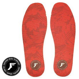 5mm FP INSOLE/FOOT PRINT INSOLE フットプリントインソール KING FOAM INSOLES-NEW RED CAMO ニュー レッドカモ