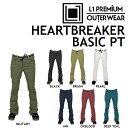 16-17 L1 エルワン ウエア HEARTBREAKER BASIC PANTS ハートブレイカー ベーシック パンツ L1TA リタ レディース