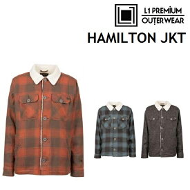 18-19 L1 エルワン ウエア HAMILTON JACKET ハミルトン ジャケット 日本正規品