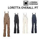19-20 L1 エルワン LORETTA OVERALL PANTS オーバーオール パンツ L1TA リタ ウエア レディース スノーボード日本正規品