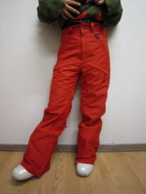 P01 プレイ ウエア FOX PANTS フォックス パンツ RED-XS S PLAYDESIGN プレイデザイン