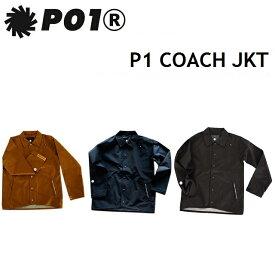 P01 プレイ ウエア P1 COACH JACKET ピーワン コーチ ジャケット PLAYDESIGN プレイデザイン