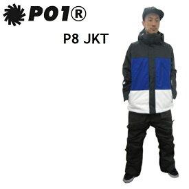 P01 プレイ ウエア P8 JACKET ピーエイト ジャケット BLACK MIX PLAYDESIGN プレイデザイン