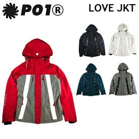 19-20 P01 プレイ LOVE JACKET ラブ ジャケット PLAYDESIGN プレイデザイン ウエア メンズ レディース スノーボード