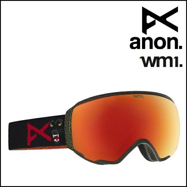 16-17 ANON アノン ゴーグル WM1-MEOW / RED SOLEX レディース 【正規保証 アジアンフィット】