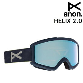20-21 ANON HELIX 2.0-BLUE / PERCEIVE VARIABLE BLUE アノン ゴーグル スノーボード アジアンフィット 日本正規品