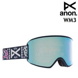 20-21 ANON WM3-NOOM / PERCEIVE VARIABLE BLUE アノン ゴーグル スノーボード レディース アジアンフィット 日本正規品