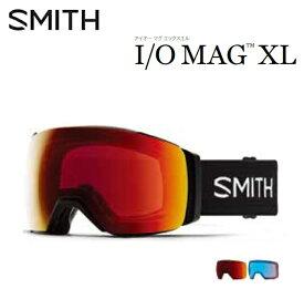 [最大3000円クーポン配布中] 19-20 SMITH スミス ゴーグル I/O MAG XL アイオー マグ エックスエル BLACK / CP SUN RED MIRROR クロマポップレンズ