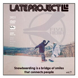 LATE PROJECT [LATEproject vol.7 HI-FIVE] グラトリ 2枚組 新作スノーボード DVD 2021 2022