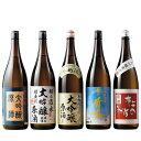 【驚きの約50%OFF!】特割!新潟5酒蔵の大吟醸原酒飲みくらべ一升瓶5本組