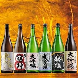 【約53%OFF!】特割!越乃六蔵大吟醸飲みくらべ一升瓶6本組